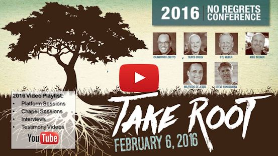 No Regrets 2016 Conference Video Playlist